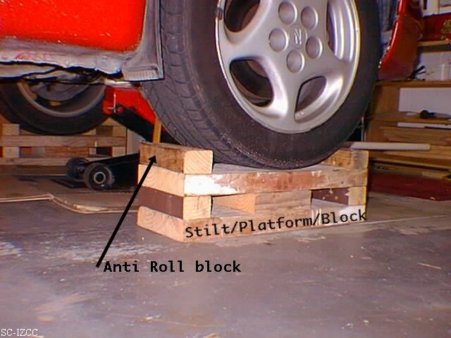 A Collection Of Homemade Car Jacks Ramps Some Bought