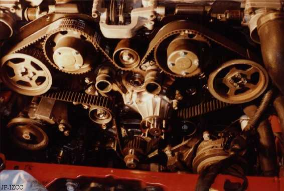 90+ Nissan 300ZX Timing Belt Replacement