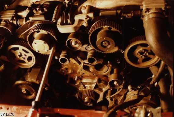 the following is the camshaft oil seal replacement procedure