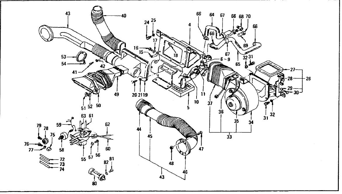 datsun 240z heater hose diagram