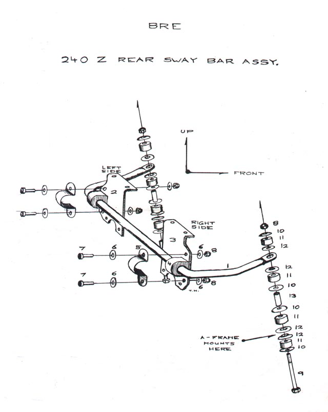 Bre Rear Sway Bar