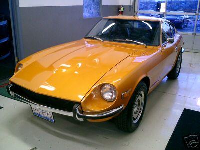 70 78 Datsun Z Paint Code Gallery